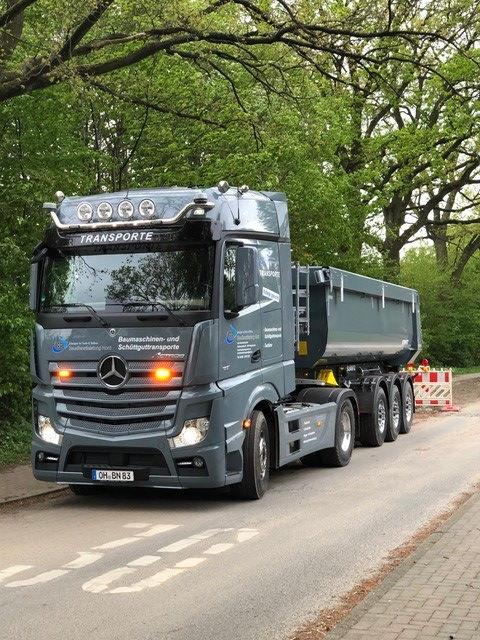 Schüttguttransporte aus Heiligenhafen