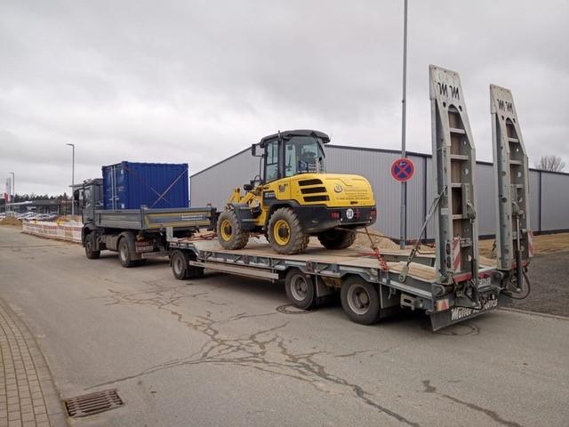 Baumaschinentransporte Kiel